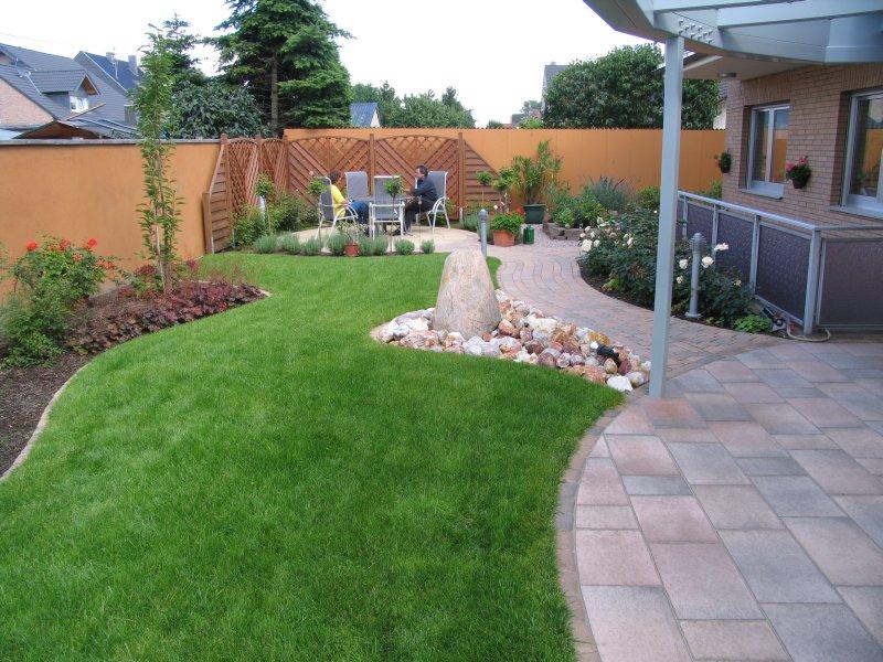 So Sieht Der Fertige Rustikale Garten Aus