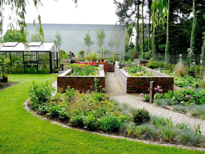 Der bauerngarten for Garten anlegen plan
