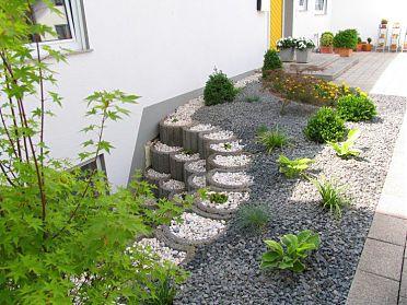 Garten klein aber mit hochbeet - Vorgarten hochbeet ...