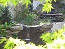 Gartenteich bilder vom schwimmteich im september for Bruchsteine teich