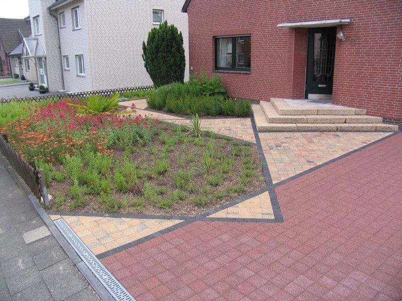 Garten bilder vom fertigen zustand for Gartengestaltung 150 qm