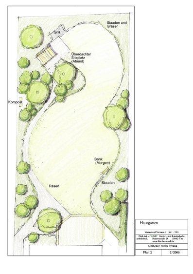Qm neuer garten f r ein neu erbautes einfamilienhaus for Gartengestaltung 100 qm