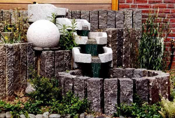 wasserbecken garten beton, wasserbecken-, Design ideen