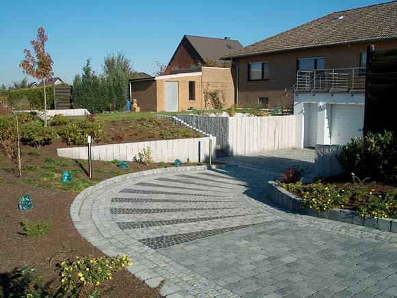 Garten 600 qm mit viel granit for Gartengestaltung 500 qm