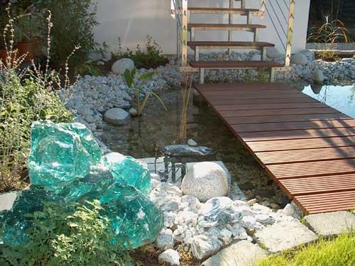 Garten 600 qm mit viel granit for Gartengestaltung 700 qm