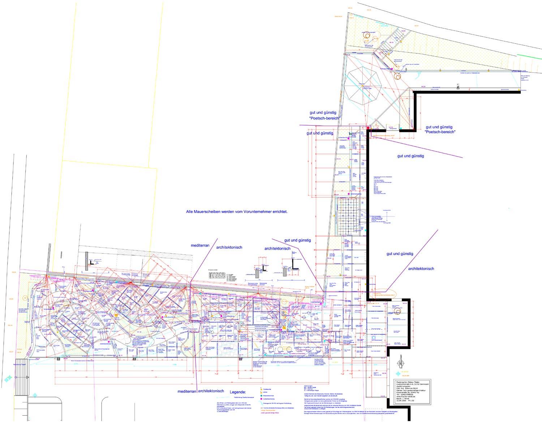 Garten und landschaftsbau plan  Wir planen die Garten-Schau in CAD