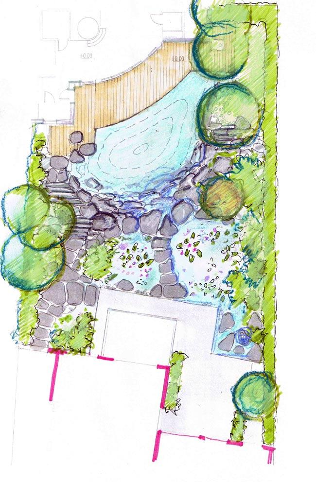 Natursteinplatten Garten war schöne design für ihr wohnideen