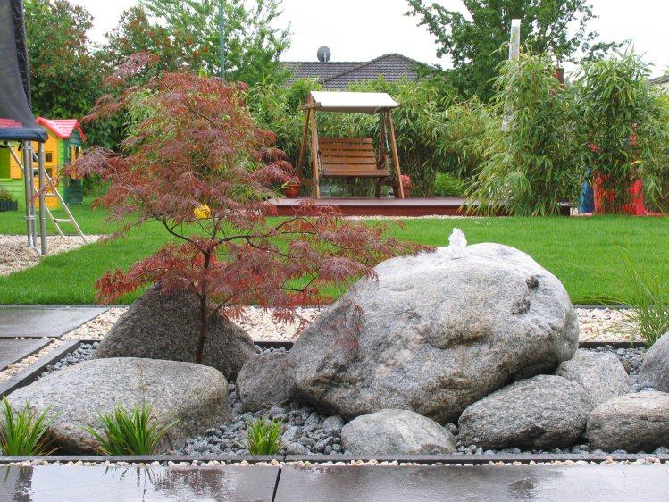 Japangarten mit modernen elementen - Japangarten pflanzen ...