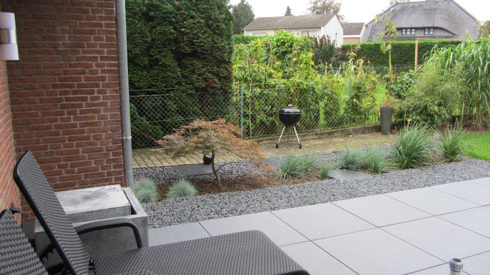 gräser-garten nach der fertigstellung – gartenplanung düsseldorf, Garten und Bauen
