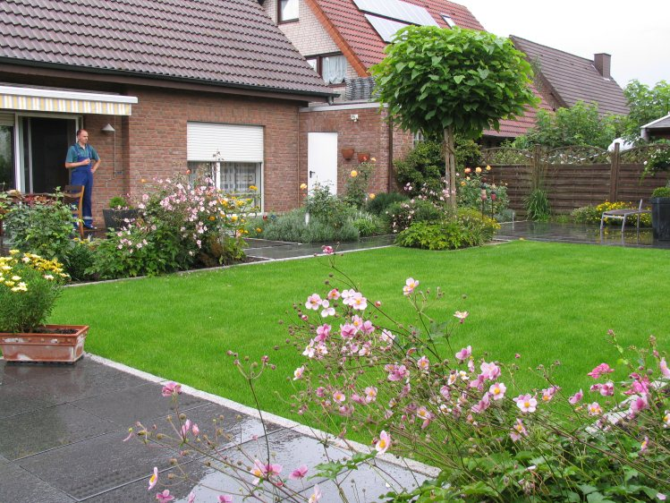 Alter garten wird zum wohngarten for Gartengestaltung 400 qm