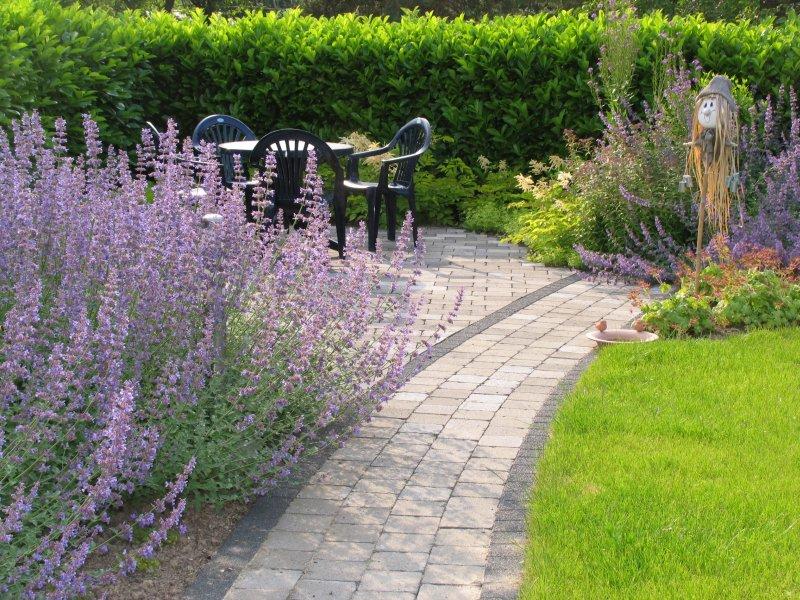 Garten bilder vom fertigen zustand for Gartengestaltung 400 qm