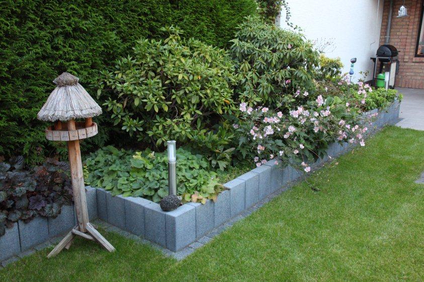 reihenhaus-garten nach der fertigstellung – gartenplanung, Garten Ideen