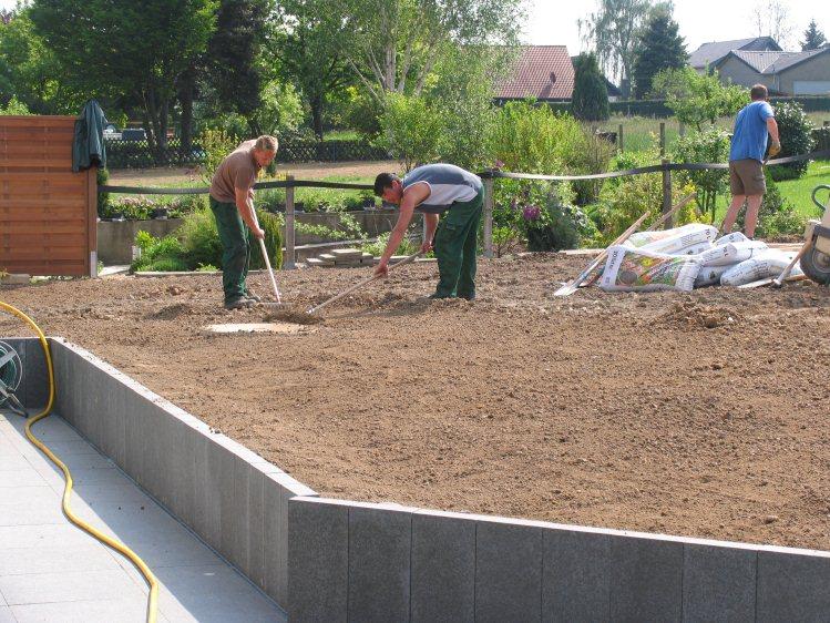 Von Der Baustelle Zum Traum Garten