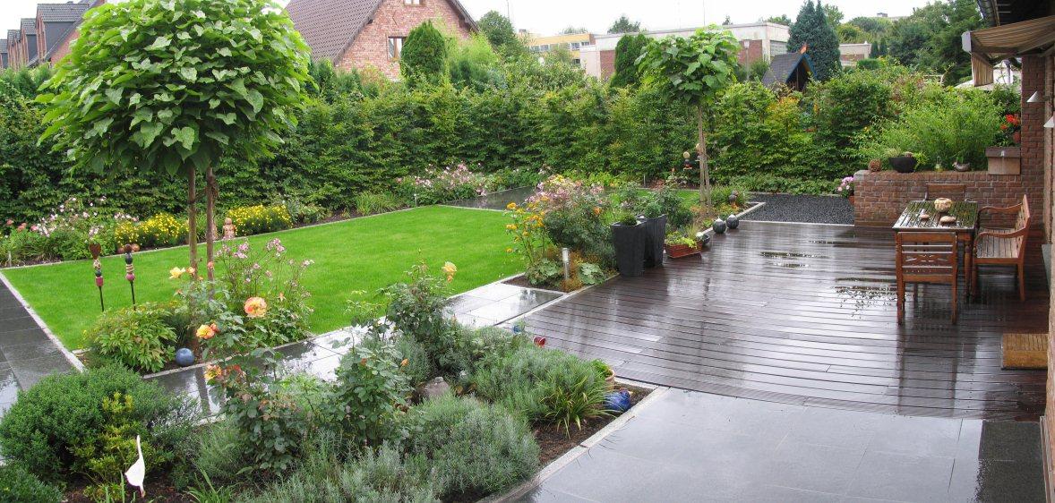 Alter garten wird zum wohngarten for Gartengestaltung 100 qm