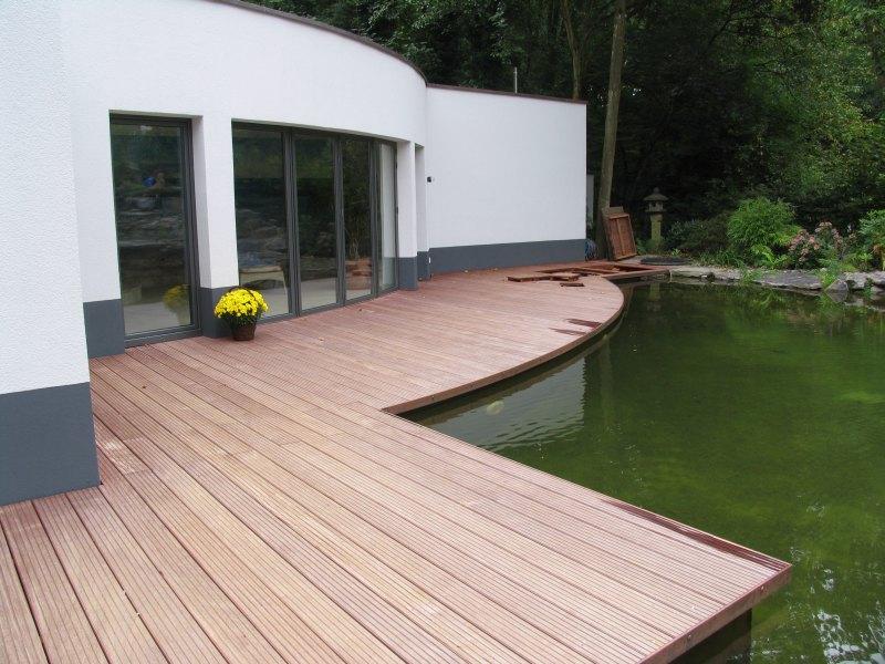 Holzterrassengestaltung  Holzterrassen – wir planen und bauen Ihr Holzdeck.