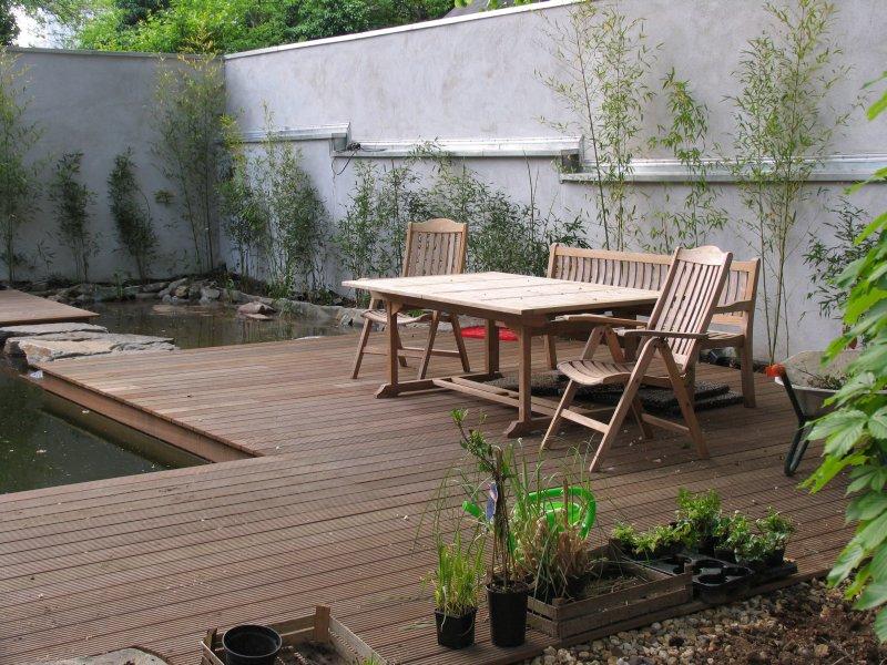 bilder von der fertigen anlage im folgenden mai. Black Bedroom Furniture Sets. Home Design Ideas