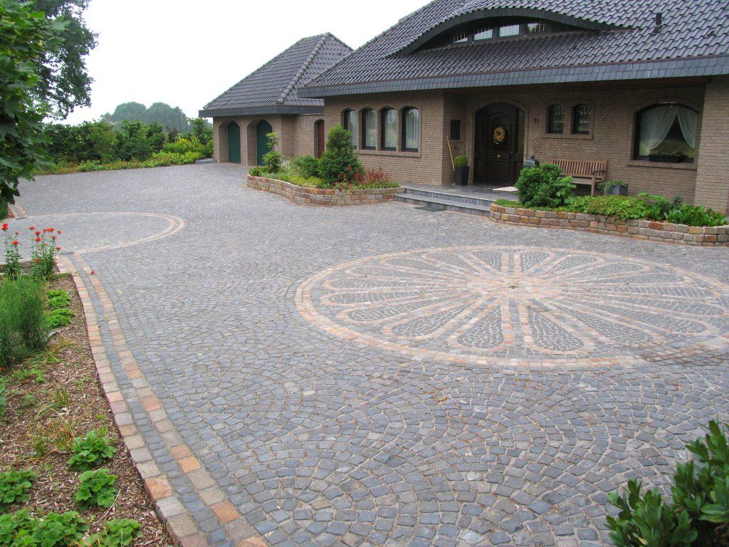 Vorplatz - Vorgarten pflastern ...