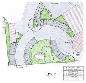 Entwurfs-Planung Parkplatz
