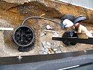 Pumpenschacht und Filterschacht bauen