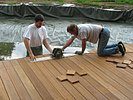 Holz-Zuschnitt