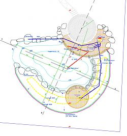Schwimmteich-Planung-Ausführungsplan