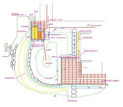Ausführungsplan Wassergarten