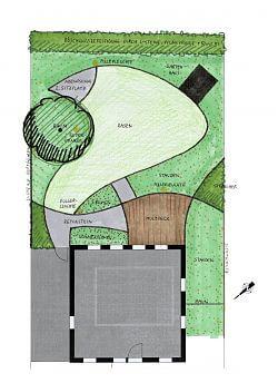 Vorentwurf 1 hinterer Garten