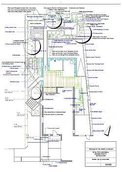 Plan für die Gartenbepflanzung