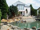 Schwimmteich Baustelle