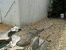 Flachwasserzone Baustelle
