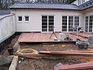 Baustelle Holzterrasse
