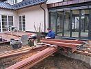 Bau Holzterrasse