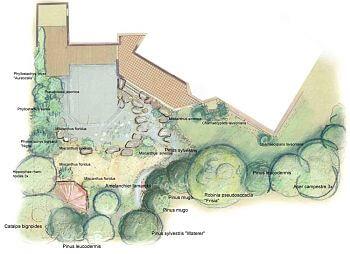 Vor-Planung der Bepflanzung für den Garten
