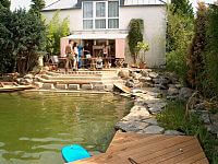 Schwimmteich - Baustelle