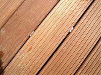 Detail Verschraubung Holzterrasse