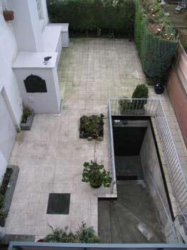 Dachgarten von oben