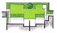Vorentwurf 4 für den Garten