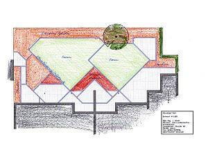 Entwurf für den Garten