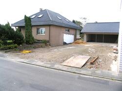 Außenanlagen vor der Neugestaltung  als Landschaftsgarten