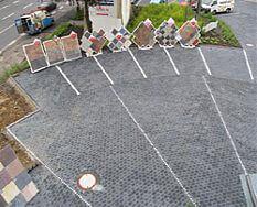 Pflasterbeispiele Parkplatz