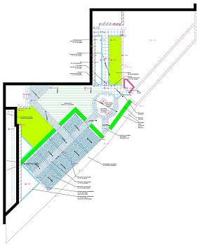 Parkplatz Planung Ausführungsplan