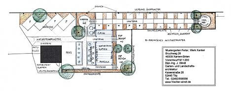 Vorentwurf Schaugaerten Planung