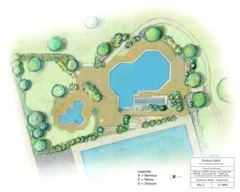 Vorentwurf Pflanzung Freibad