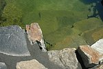 Unterwassertreppe aus Naturstein