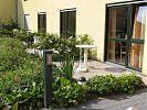 Hecken als natürlicher Sichtschutz an den Terrassen