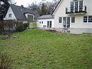 Rasenfläche vor dem Schwimmteichbau