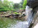 Wasserfall am Schwimmteich