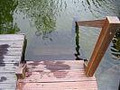 Treppe in den Schwimmteich