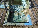 Zugang Naturbad-Becken
