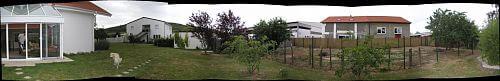 hinterer Gartenbereich vorher